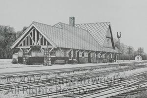 John Cartwright Artist Of Upper Midwest Railroading