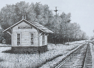 John Cartwright Artist Of Upper Midwest Railroading
