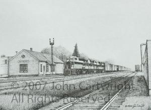 John Cartwright–Artist of Upper Midwest Railroading Listings